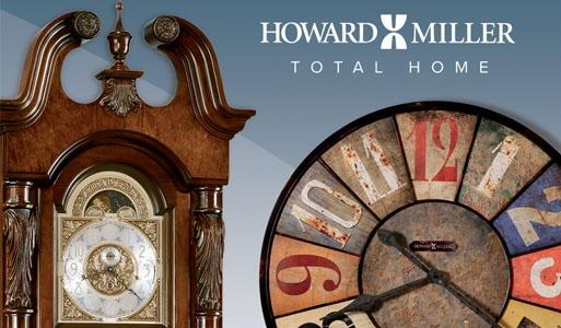 Часы напольные Howard Miller