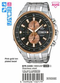 Casio Edifice EFR-549D-1B9