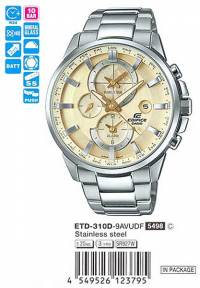 Casio Edifice ETD-310D-9A