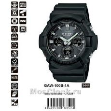 Casio G-Shock GAW-100B-1A
