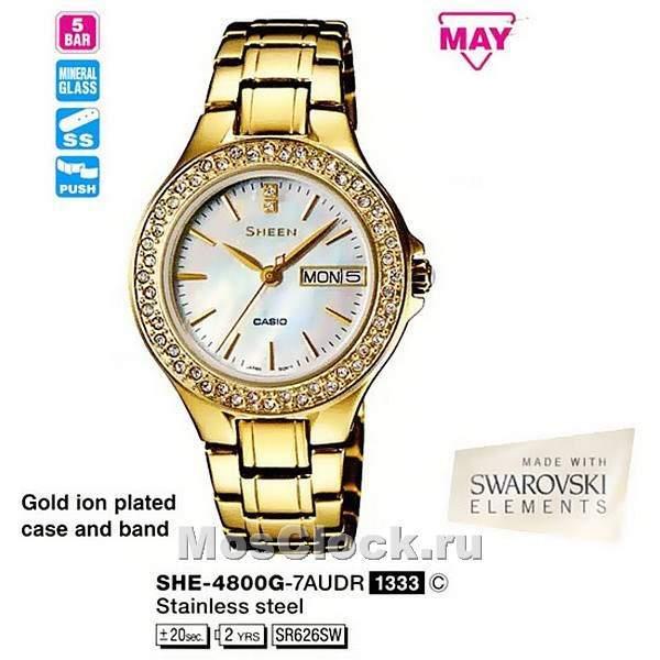 Женские наручные часы Casio Касио купить в интернет