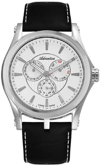 Часы Adriatica A1094.5213QF Часы Romanson RL1222QLW(WH)BK