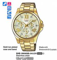 Casio SHE-3806GD-9A