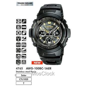 Casio G-Shock AWG-100BC-1A