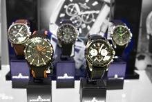 В магазине большой выбор наручных часов