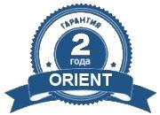 Официальная гарантия Orient 2 года